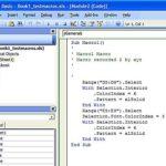 Training Pemrograman Visual Basic for Application dalam Excel